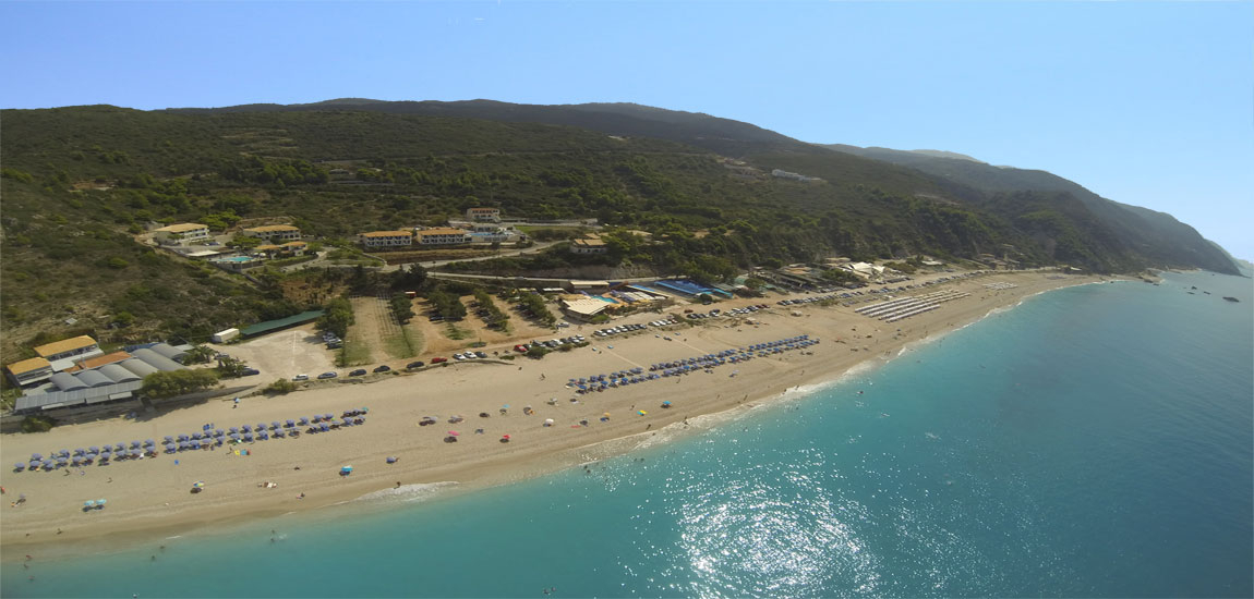 The panoramic Kathisma Beach