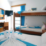 hree Bed Studios Apartments with Bunk Bed